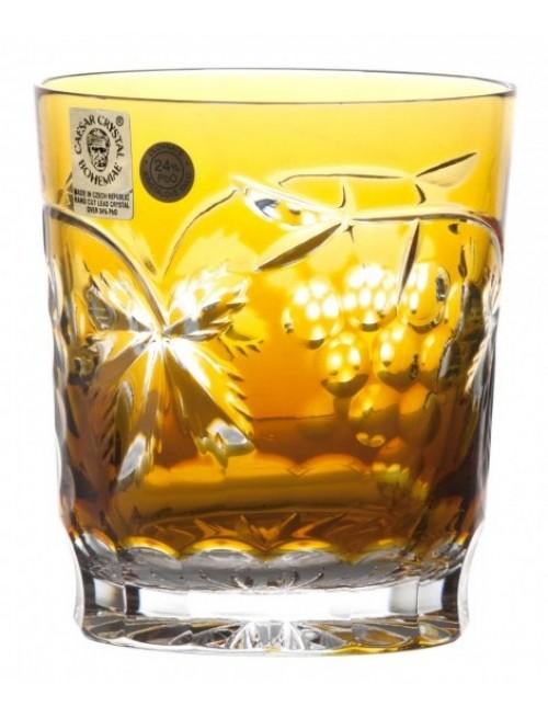 Bicchiere Grapes, cristallo, colore ambra, volume 290 ml