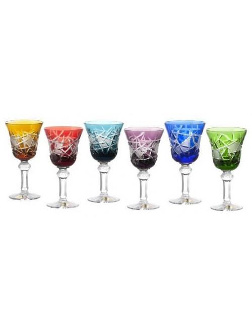 Set Bicchieri Mars 180, cristallo, multicolore, volume 180 ml