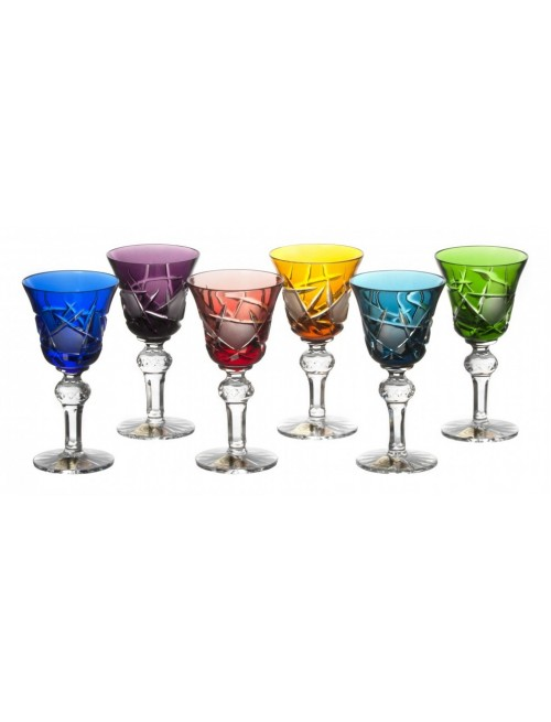 Set Bicchierini Mars 050, cristallo, multicolore, volume 50 ml