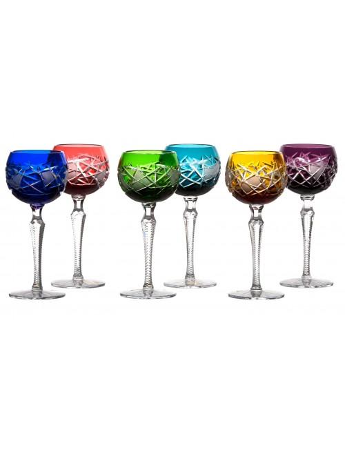 Set bicchieri Mars 190, cristallo, multicolore volume 190 ml