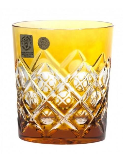 Bicchiere Sultan, cristallo, colore ambra, volume 290 ml