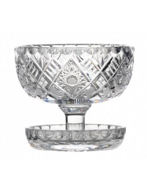 Ciotola, cristallo trasparente, diametro 112 mm