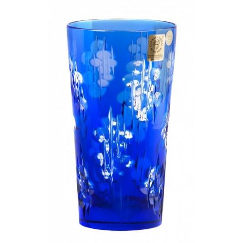 Bicchiere Silention, cristallo, colore blu, volume 320 ml
