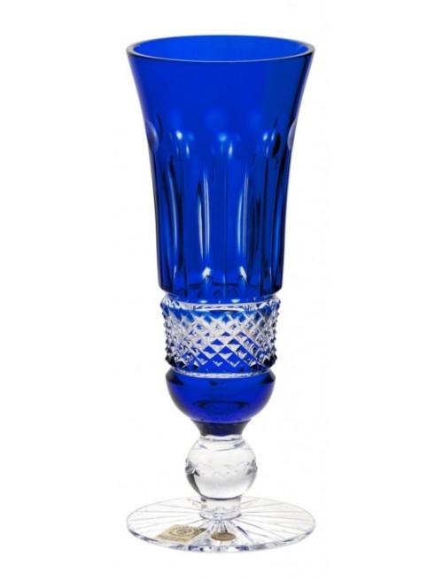 Bicchiere Tomy, cristallo, colore blu, volume 150 ml