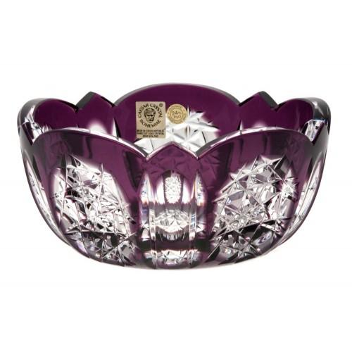 Insalatiera Frigus, cristallo, colore viola, diametro 155 mm