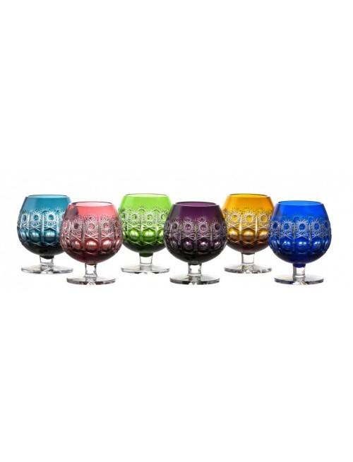 Set Bicchieri Brandy Petra, cristallo, multicolore, volume 230 ml