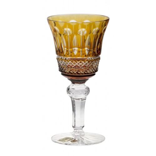 Bicchiere Tomy, cristallo, colore ambra, volume 120 ml