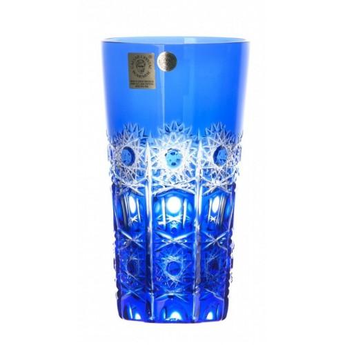 Bicchiere Petra, cristallo, colore blu, volume 320 ml