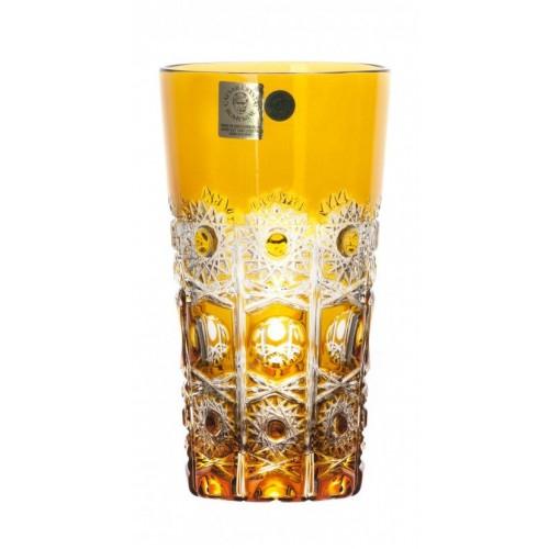 Bicchiere Petra, cristallo, colore ambra, volume 320 ml