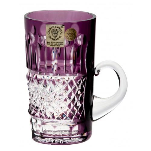 Tazza Tomy, cristallo, colore viola, volume 100 ml