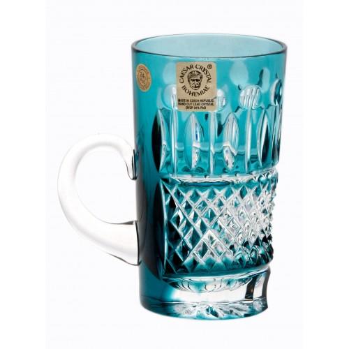 Tazza Tomy, cristallo, colore azzurro, volume 100 ml