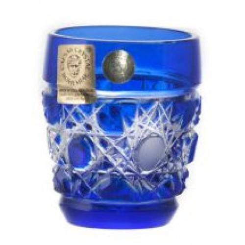 Bicchierino Tomy, cristallo, colore blu, volume 50 ml