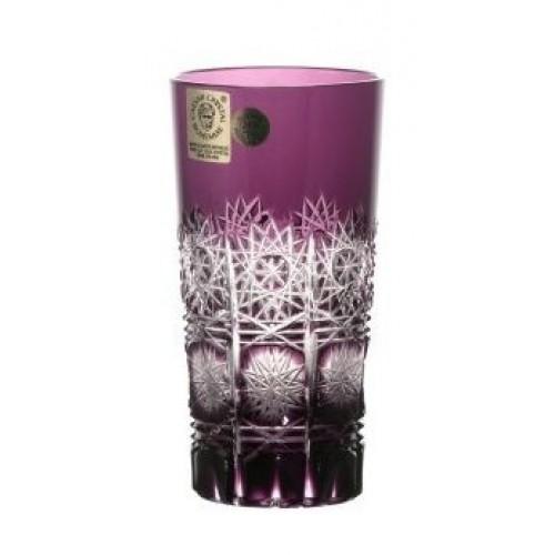 Bicchiere Paula, cristallo, colore viola, volume 100 ml