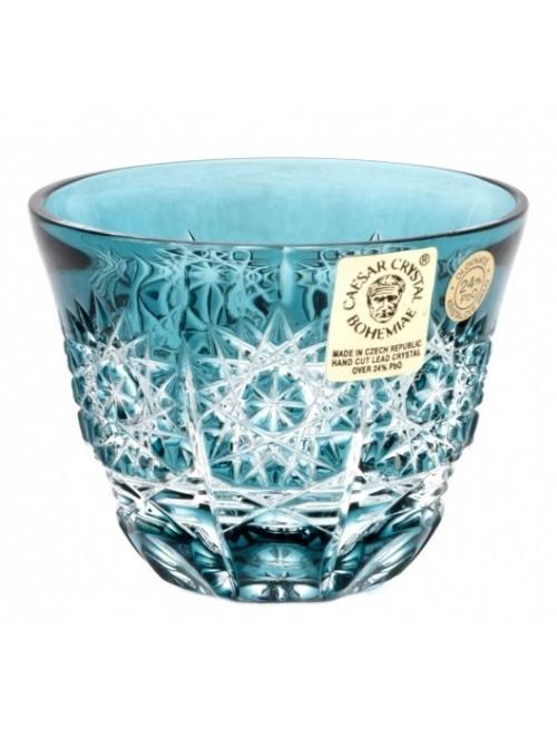 Bicchierino Paula, cristallo, colore azzurro, volume 65 ml