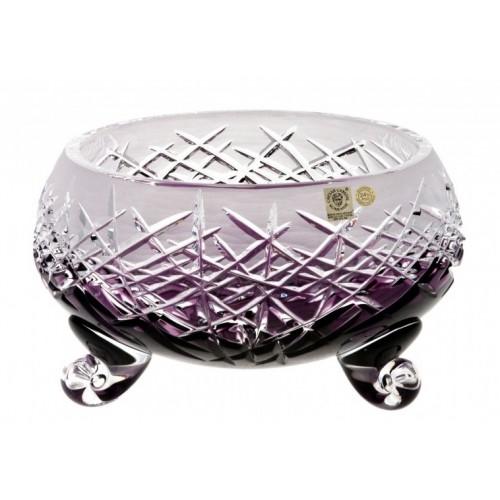 Insalatiera Hoarfrost, cristallo, colore viola, diametro 155 mm
