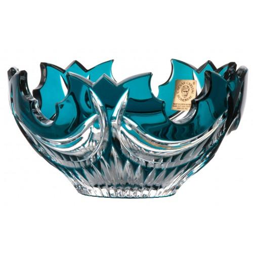 Ciotola Diadem, cristallo, colore azzurro, diametro 130 mm