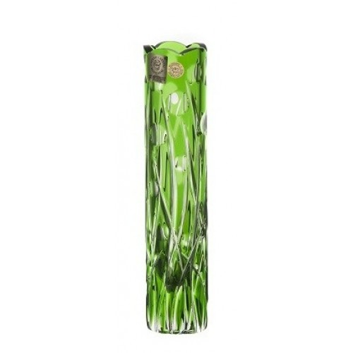 Vaso Heyday, cristallo, colore verde, altezza 180 mm