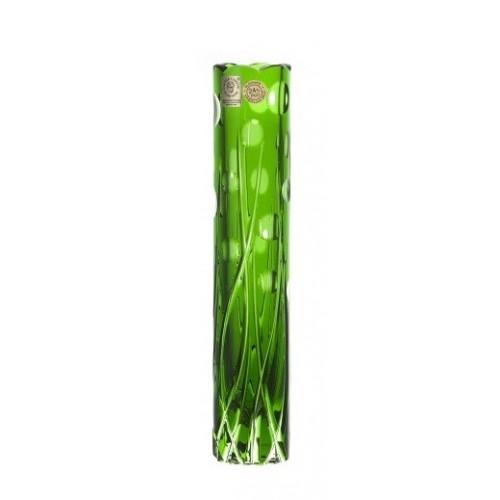 Vaso Heyday, cristallo, colore verde, altezza 230 mm