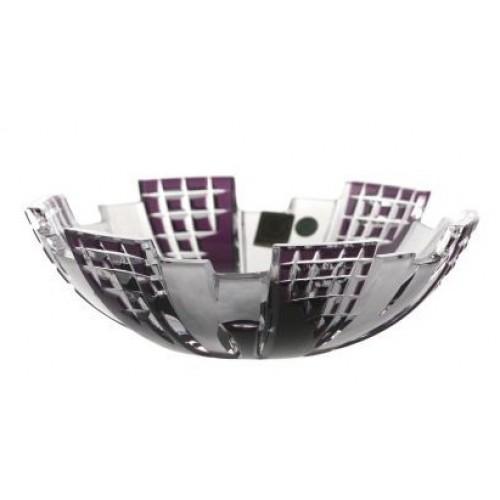 Insalatiera Metropolis, cristallo, colore viola, diametro 180 mm