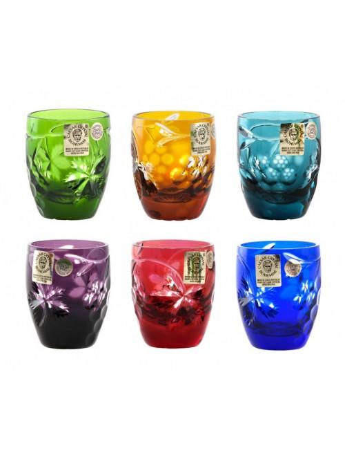 Set Bicchieri Grapes, cristallo, multicolore, volume 45 mm