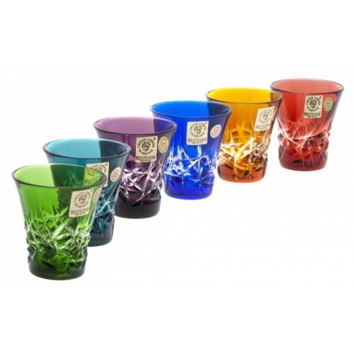 Set Bicchierini Hoarfrost, cristallo, multicolore, volume 45 ml