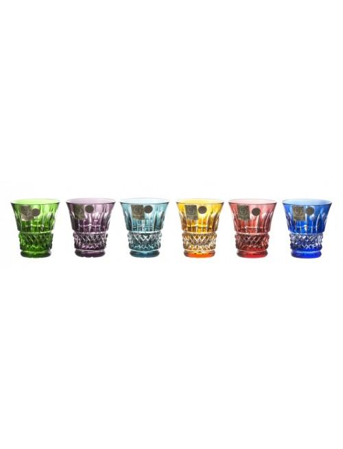 Set Bicchierini Tomy, cristallo, multicolore, volume 45 ml