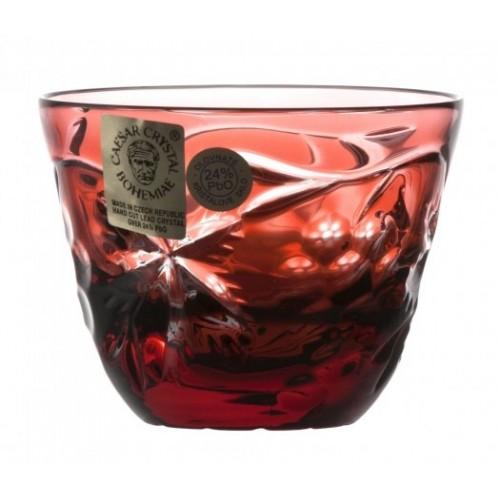 Bicchierino Grapes, cristallo, colore rosso, volume 65 ml