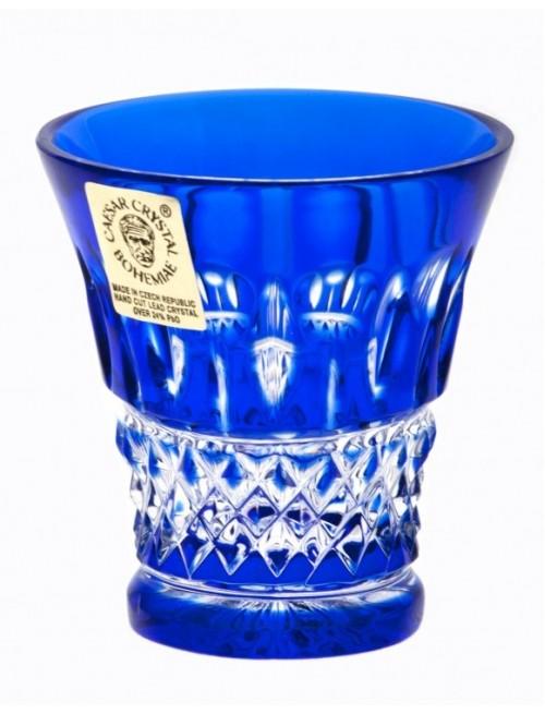 Bicchierino Tomy, cristallo, colore blu, volume 45 ml