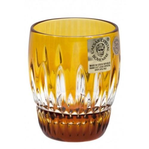 Bicchierino Thorn, cristallo, colore ambra, volume 50 ml