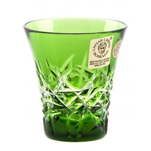 Ciotola Hoarfrost, cristallo, colore verde, volume 45 ml