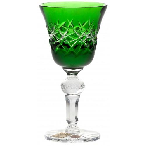 Bicchiere Hoarfrost, cristallo, colore verde, volume 50 ml