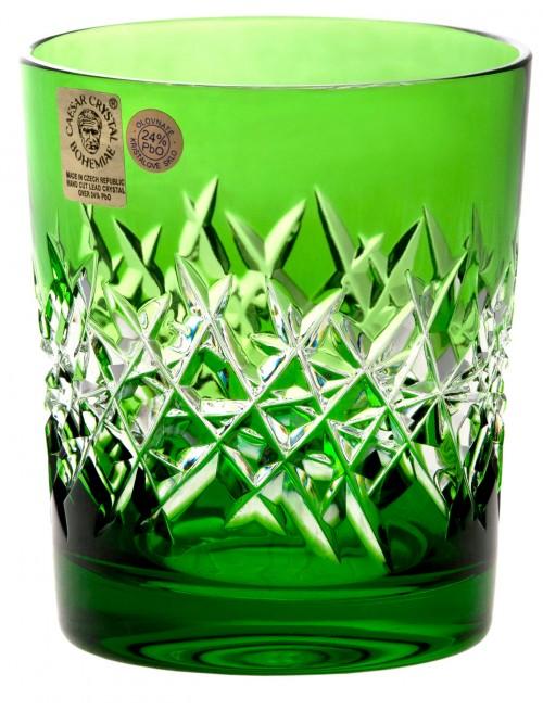 Bicchiere Hoarfrost, cristallo, colore verde, volume 290 ml
