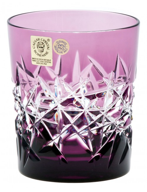 Bicchiere Hoarfrost, cristallo, colore viola, volume 290 ml