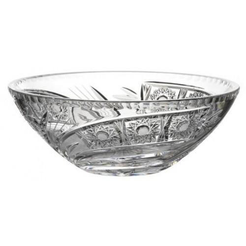 Insalatiera Cometa, cristallo trasparente, diametro 230 mm