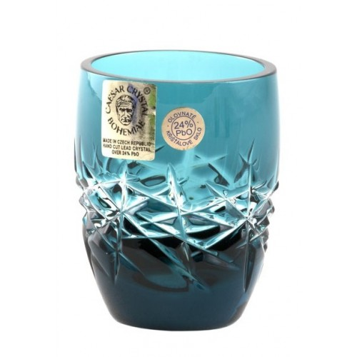 Bicchierino Hoarfrost, cristallo, colore azzurro, volume 50 ml