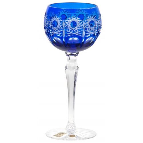 Bicchiere Petra, cristallo, colore blu, volume 190 ml