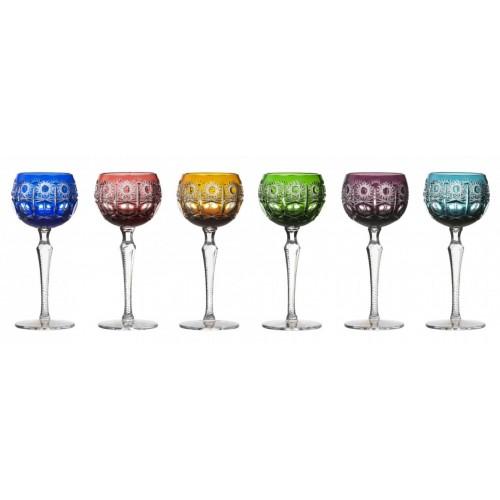 Set Bicchieri Petra 190, cristallo, multicolore, volume 190 ml