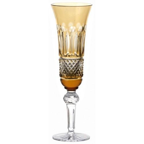 Bicchiere Tomy, cristallo, colore ambra, volume 155 ml