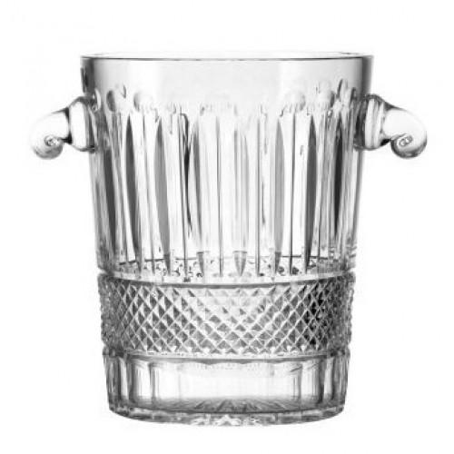 Porta ghiaccio Tomy, cristallo trasparente, altezza 260 mm