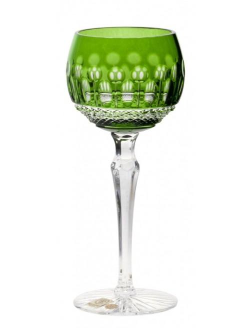 Bicchiere Tomy, cristallo, colore verde, volume 190 ml