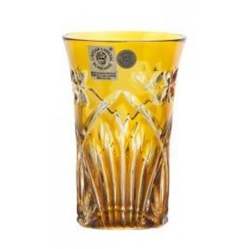 Bicchiere Peacock, cristallo, colore ambra, volume 120 ml
