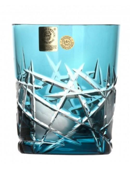 Bicchiere Mars, cristallo, colore azzurro, volume 290 ml