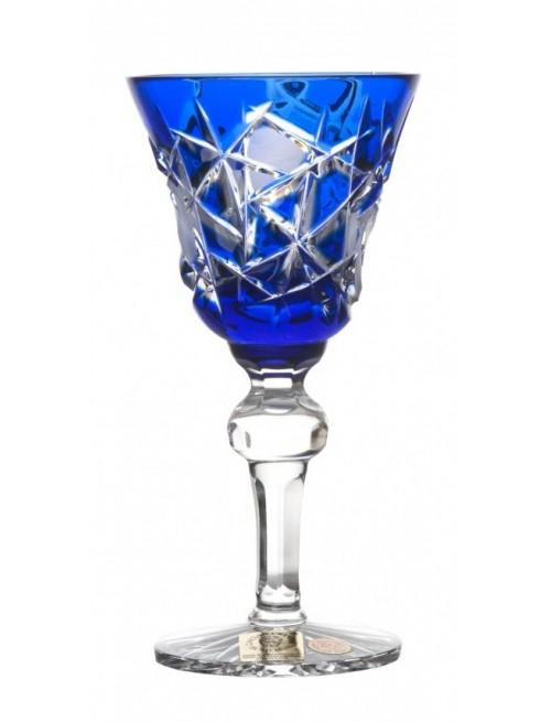Bicchiere Mars, cristallo, colore blu, volume 50 ml
