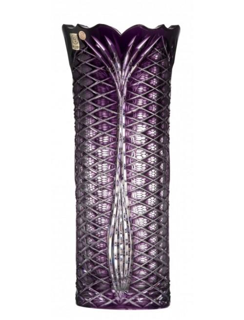 Vaso Ankara I, cristallo, colore viola, altezza 310 mm