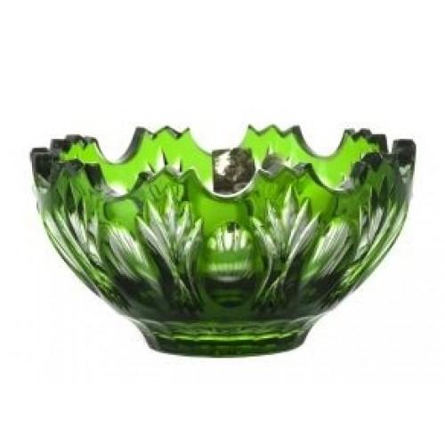 Ciotola Dandelion, cristallo, colore verde, diametro 130 mm