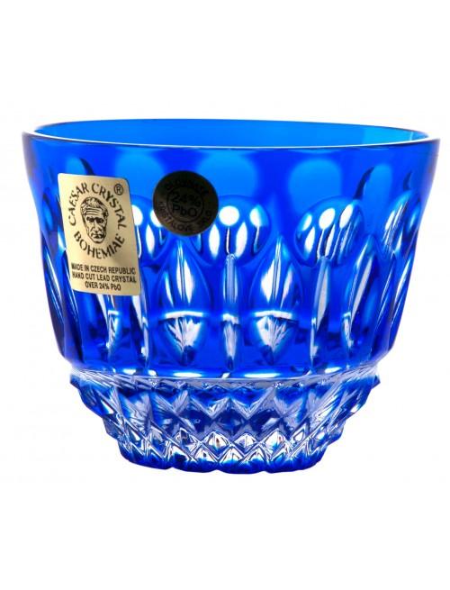 Bicchierino Tomy, cristallo, colore blu, volume 60 ml