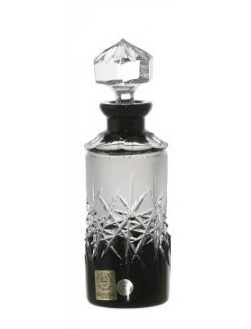 Flacone Hoarfrost, cristallo, colore nero, volume 90 ml