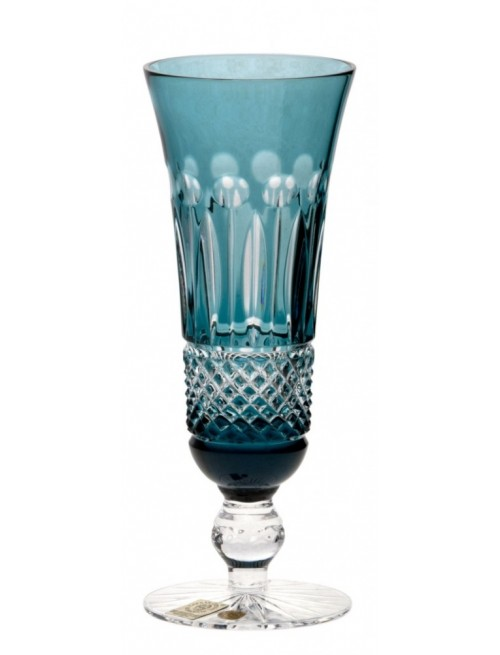 Bicchiere Tomy, cristallo, colore azzurro, volume 150 ml