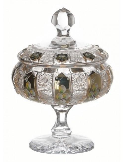 Confettiera, cristallo trasparente, altezza 262 mm
