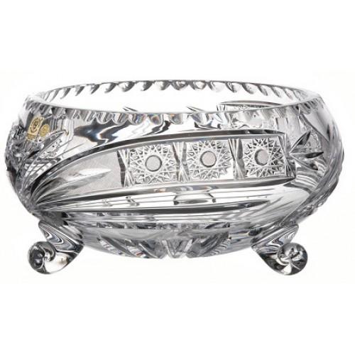 Insalatiera Cometa, cristallo trasparente, diametro 255 mm